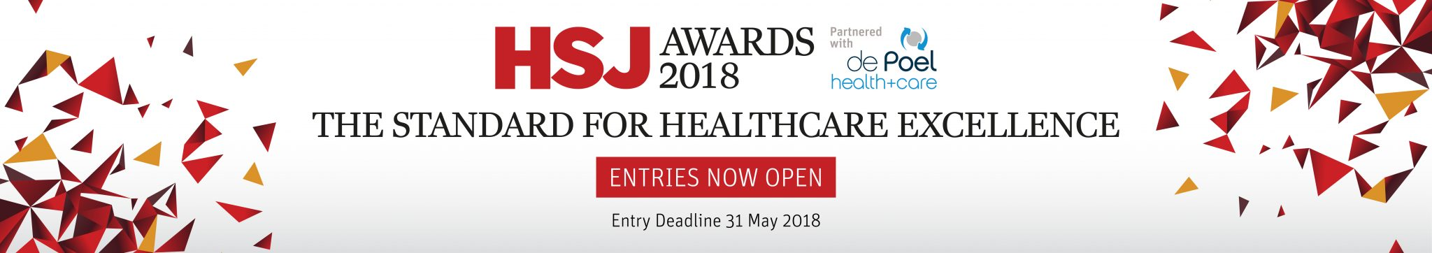 Health Service Journal Awards Banner